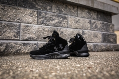 Under Armour Curry 1 Mid Black-Black Suede-15
