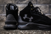 under armour curry 1 mid black-black suede-6