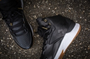 Under Armour Curry 1 Mid Leather Black-White-14