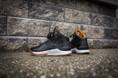 Under Armour Curry 1 Mid Leather Black-White-15