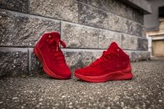 Under Armour Curry 1 Mid Red-Red Suede-12