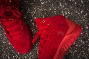 Under Armour Curry 1 Mid Red-Red Suede-14