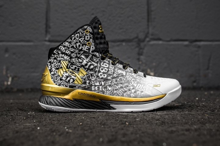 Under Armour Curry B2B Pack White side