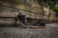 Vans Old Skool Canvas Black-Light Gum-9