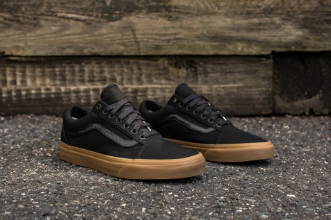 Vans Old Skool Canvas Black-Light Gum angle