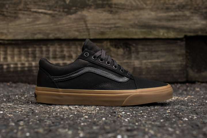 Vans Old Skool Canvas Black-Light Gum side