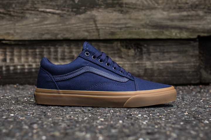Vans Old Skool Canvas Eclipse-Light Gum side