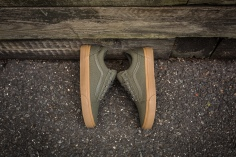 Vans Old Skool Canvas Ivy Green-Light Gum-11