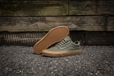 Vans Old Skool Canvas Ivy Green-Light Gum-12