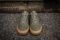 Vans Old Skool Canvas Ivy Green-Light Gum-4