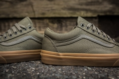Vans Old Skool Canvas Ivy Green-Light Gum-6