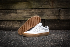 Vans Old Skool Canvas True White-Light Gum-12