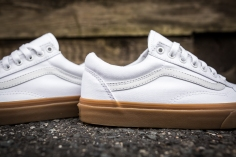 Vans Old Skool Canvas True White-Light Gum-6