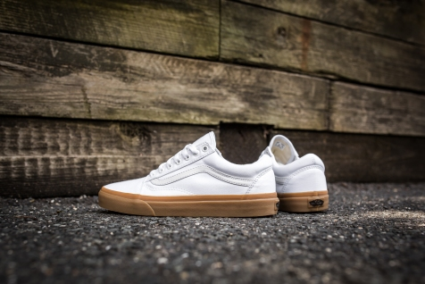 Vans Old Skool Canvas True White-Light Gum-7
