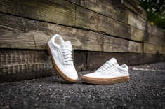 Vans Old Skool Canvas True White-Light Gum-9