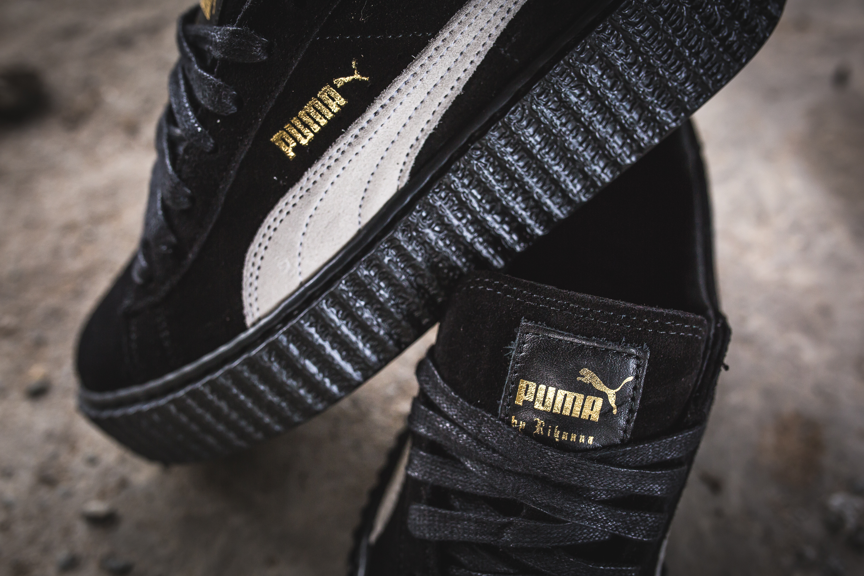 rihanna x puma fenty suede creeper reissue packer shoes. Black Bedroom Furniture Sets. Home Design Ideas