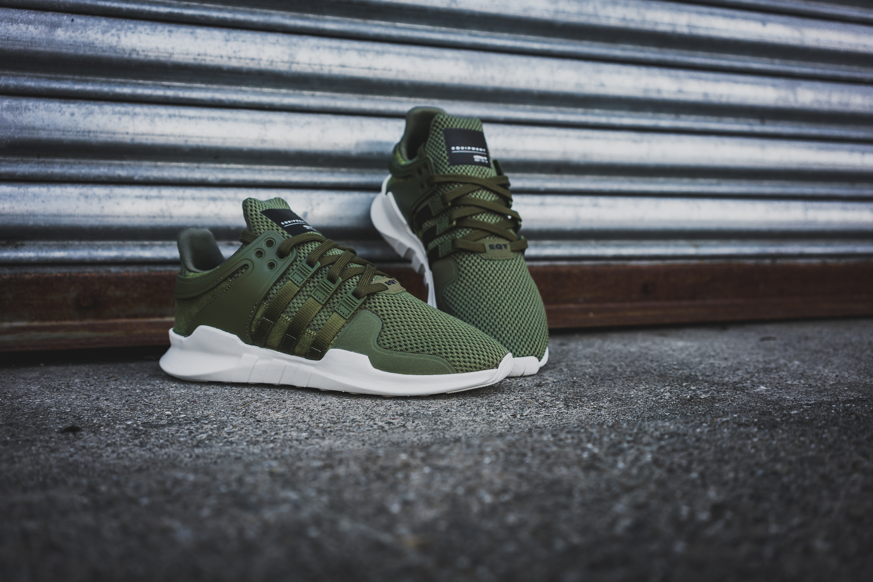 adidas equipment support adv schoenen olive