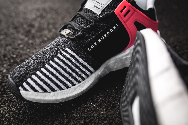 adidas Originals EQT Support ADV Black Mens Compare Bluewater