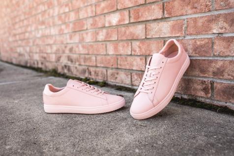 Clae Bradley Light Pink Leather-13