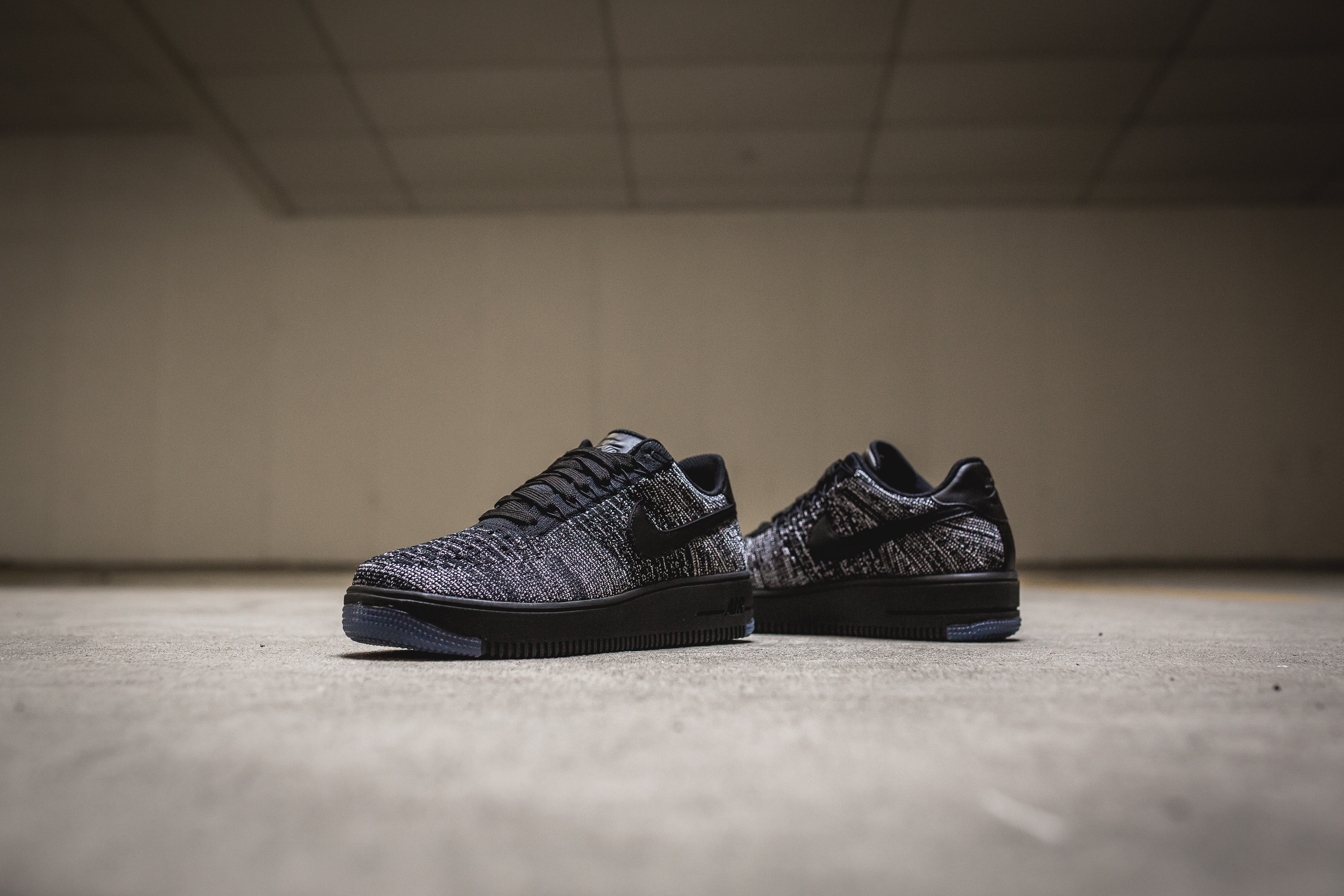 air force 1 low flyknit oreo