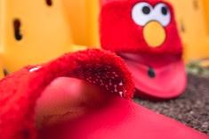 Puma x Sesame Street Slides Elmo 362456 02-14