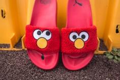 Puma x Sesame Street Slides Elmo 362456 02-7