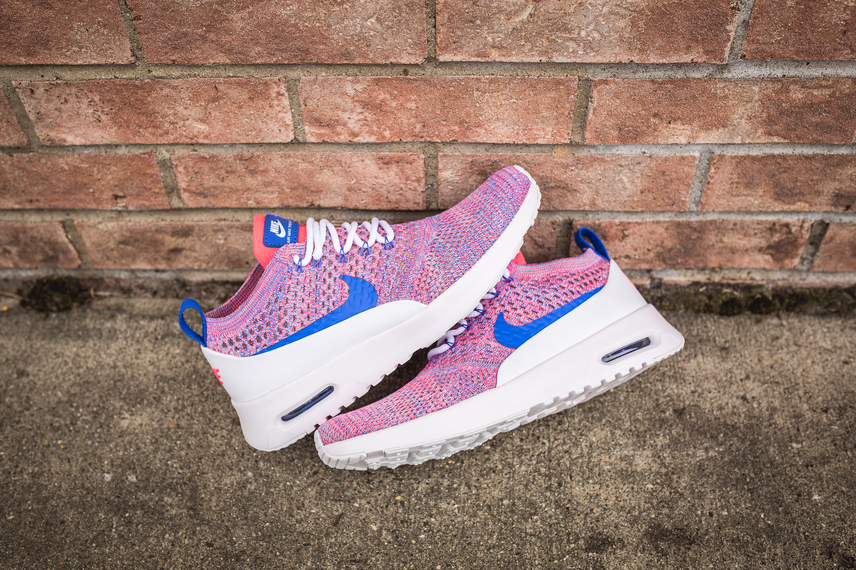 best sneakers e9a65 788bd ... 90 ultra 2.0 flyknit shoes black racer blue hyper violet shopping nike  wmns air max thea ultra fk white medium blue racer pink 150 68337 a4415 ...