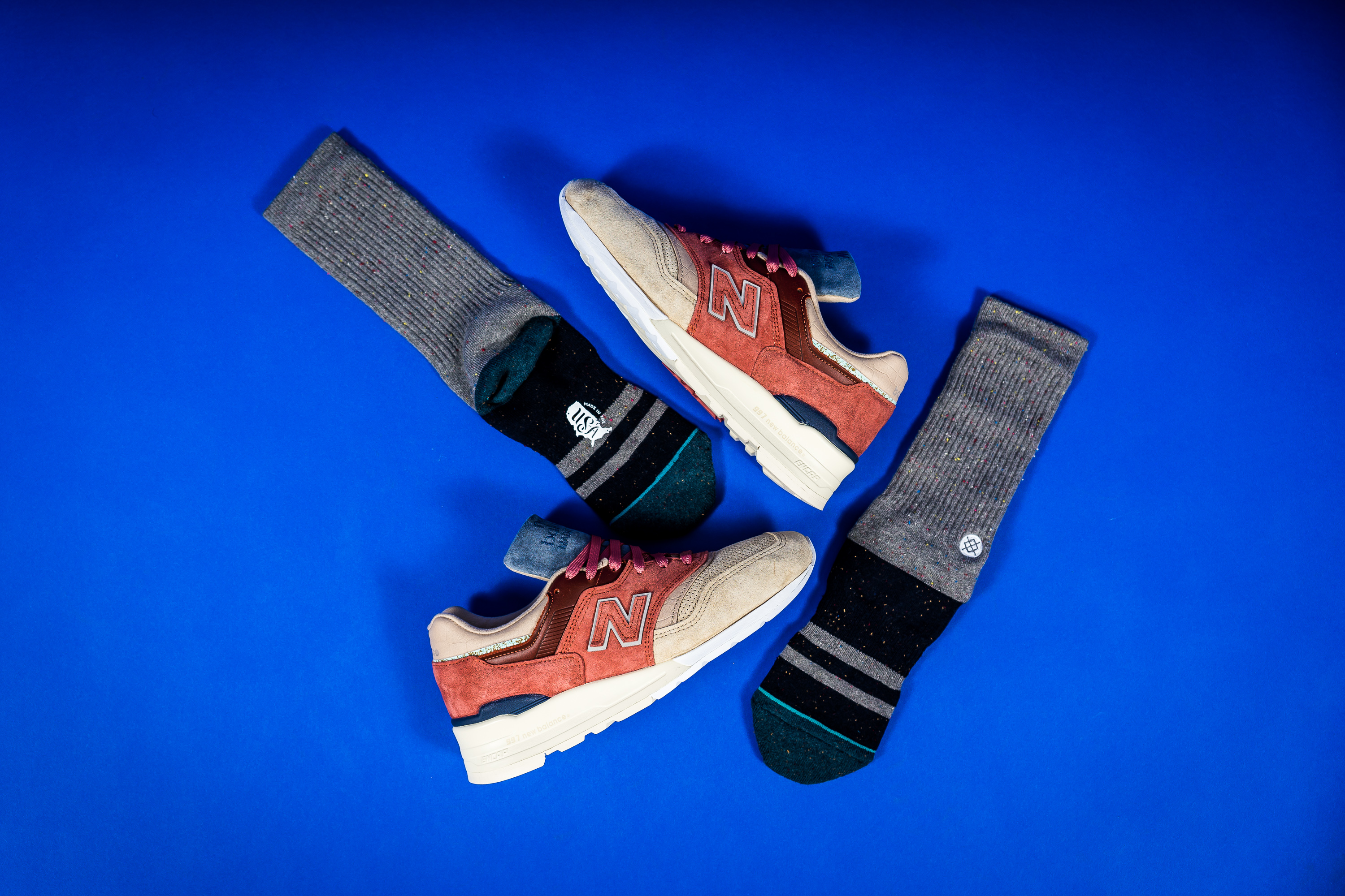 finest selection 6c2f9 a3497 stance x new balance 997 first of all m997st