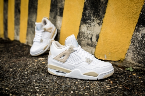 Air Jordan 4 Retro GG 'Linen' 487724 118-12