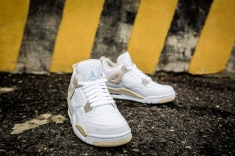 Air Jordan 4 Retro GG 'Linen' 487724 118-7
