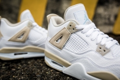 Air Jordan 4 Retro GG 'Linen' 487724 118-9