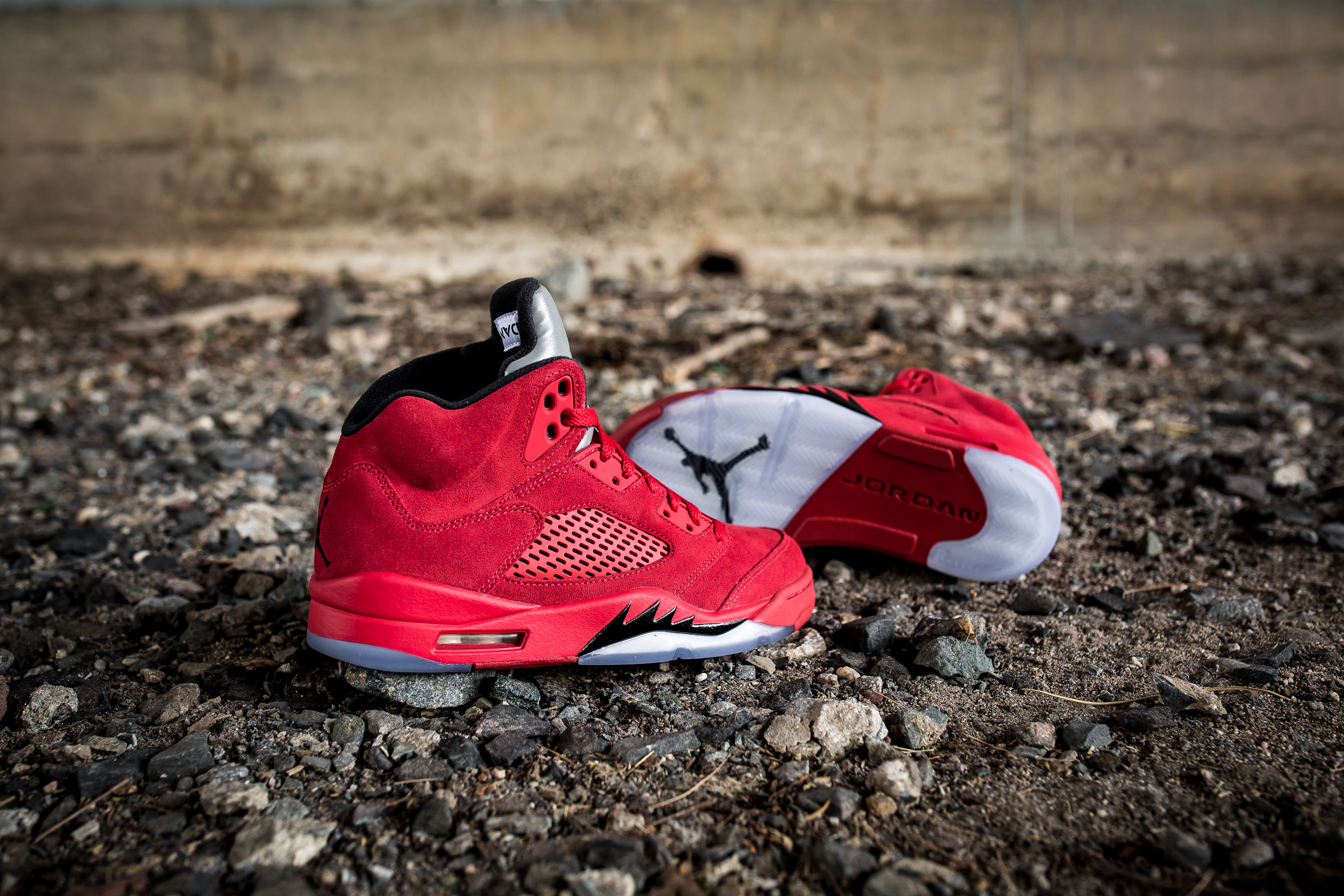 the best attitude 2f50d 0737c ... cheap air jordan 5 retro red suede 12b65 741d8 ...