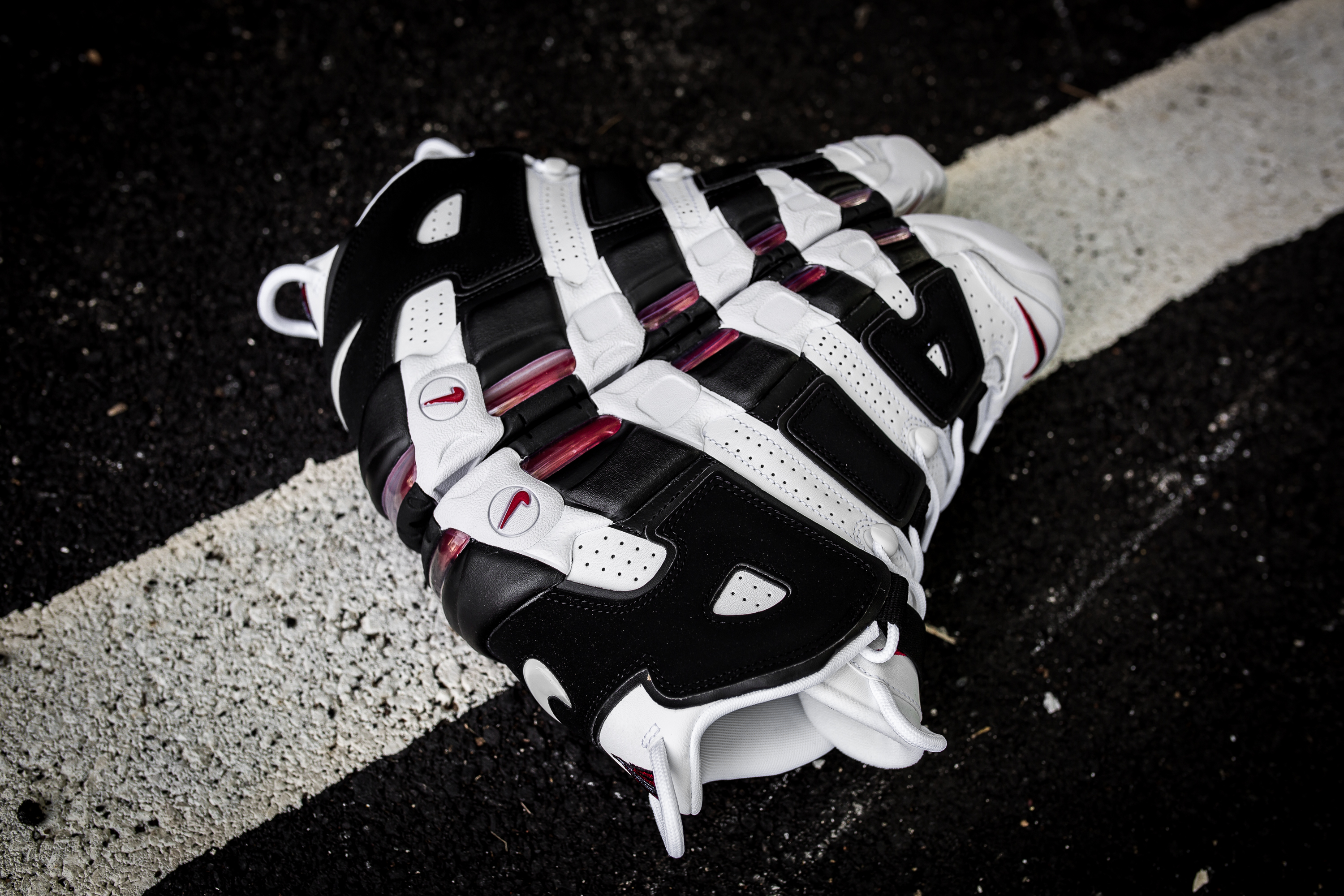 finest selection 6fd58 cdedf nike air more uptempo scottie pippen shoes black