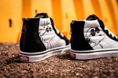 Peanuts x Vans SK8-Hi Zip Joe Cool Kids VN0A32R3OQU -8