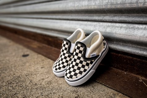 Vans infant Classic Slip-On VN000EX8BWW-7