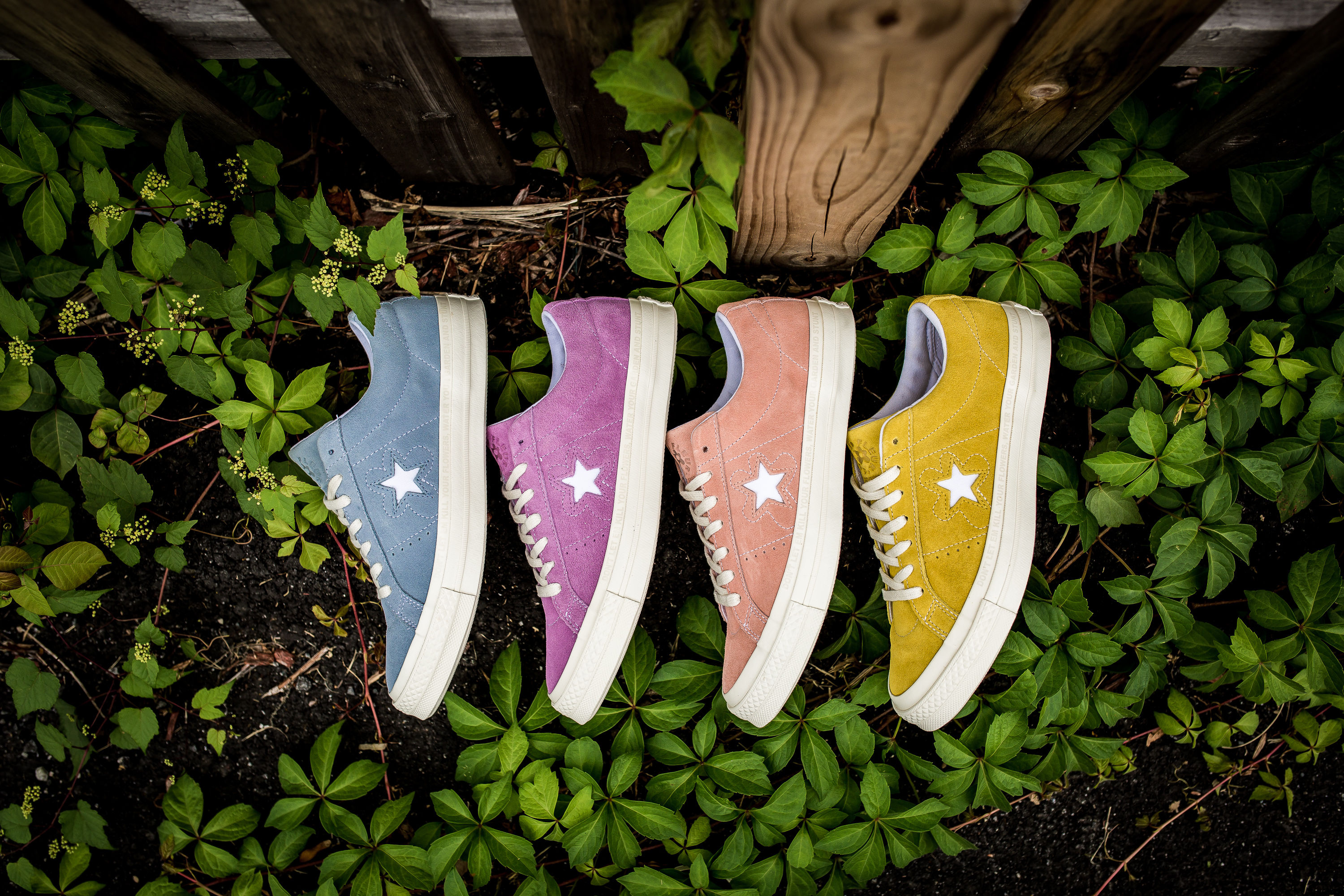Golf Le Fleur X Converse One Star Collection Packer Shoes