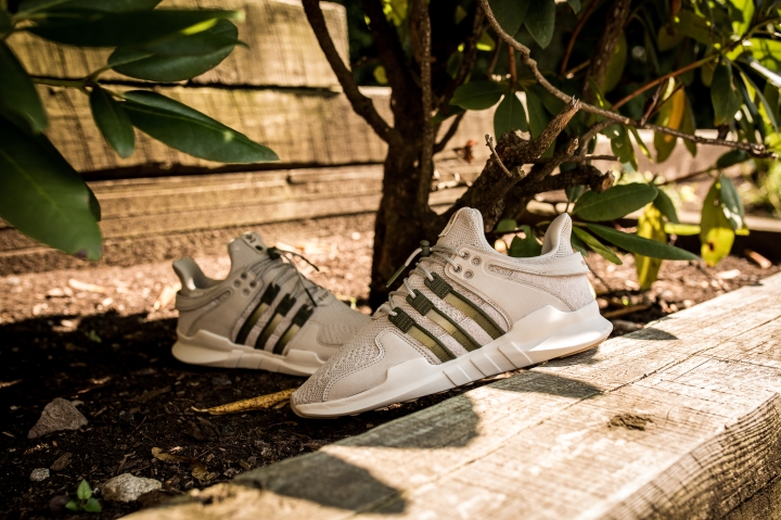 Adidas EQT Support ADV (White & Core Black) End Clothing