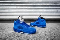 Air Jordan 5 'Blue Suede' 136027 401-12