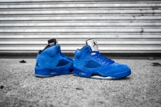 Air Jordan 5 'Blue Suede' 136027 401-8