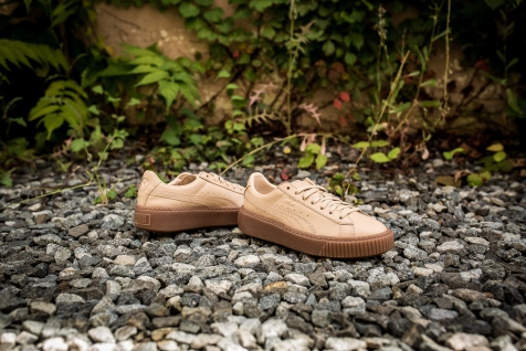 Naturel x Puma Platform Veg Tan wn's 364457 01-9