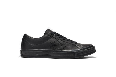 Converse x Engineered Garments One Star Black side
