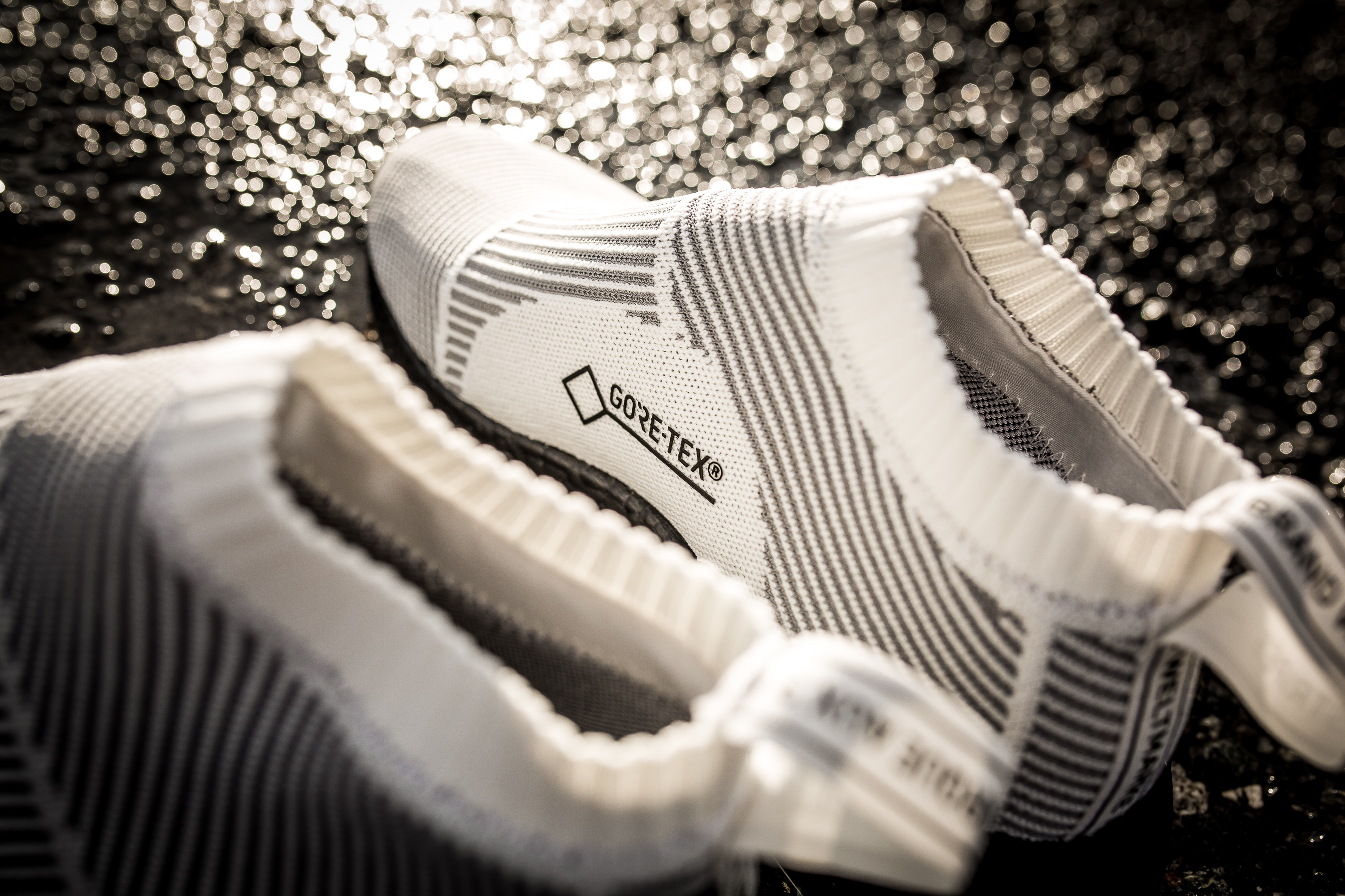 Blacked Striped Adidas Shoes