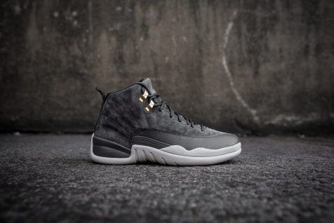 Air Jordan 12 Retro 'Dark Grey' 130690 005-2