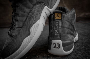 Air Jordan 12 Retro 'Dark Grey' 130690 005-6