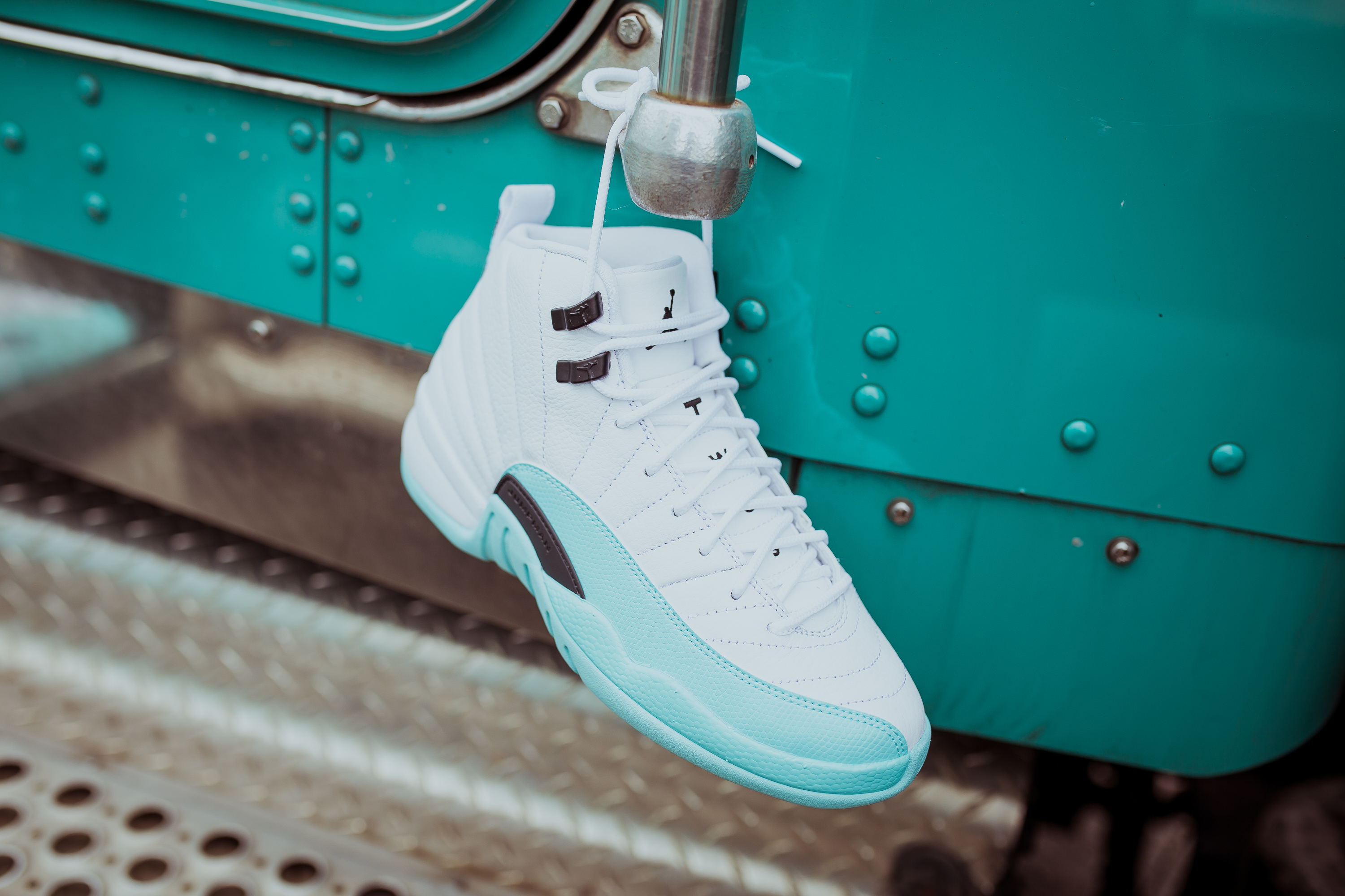 9f4d4d9833c9 usa air jordan retro 12 gg light aqua 23679 71619  discount air jordan 12  retro gs 510815 100 style 2 c428c ec071