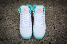 Air Jordan 5 Retro 'Light Aqua' 440892 100-7