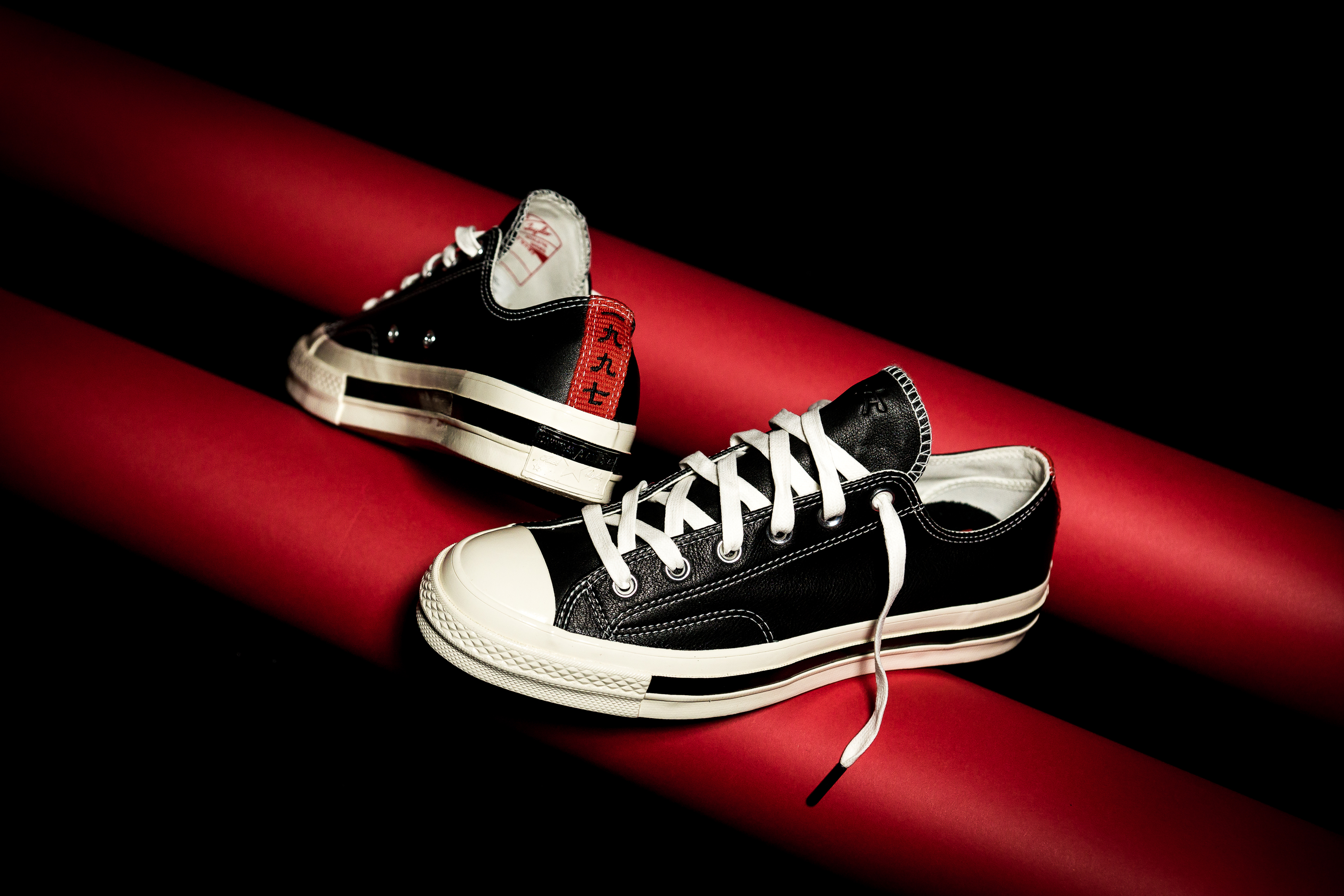 28d5bef2cb81 Kasina x Converse Chuck Taylor All-Star  70 Ox – Black Red ( 120)