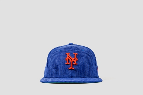 New Era x Packer Mets Curdoroy front