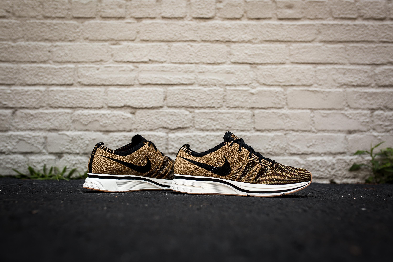 480d35491d7e ... Nike Flyknit Trainer – Golden Beige Black-Black ( 150) ...