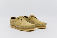 Clarks Weaver Maple Suede 33285 angle